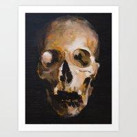 skull 9 Art Print
