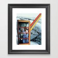 Last Call Home Framed Art Print