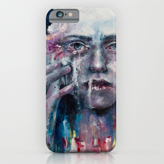 a hint of color iPhone & iPod Case