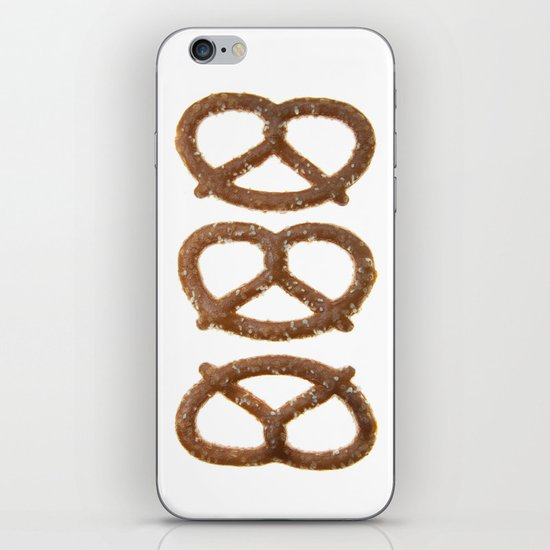 pretzel pattern iPhone & iPod Skin