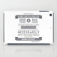 Good Things & Bad Things… iPad Case