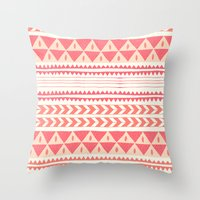 Winter Stripe II Throw Pillow