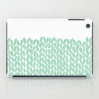 Half Knit Mint iPad Case