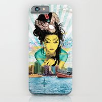 iPhone & iPod Case featuring Geisha by MATEO