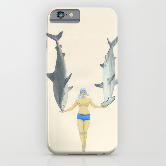 The Shark Charmer iPhone & iPod Case