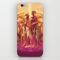 Medieval Sunset iPhone & iPod Skin