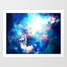 Space Eater Art Print