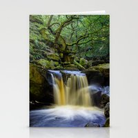 Padley Gorge II Stationery Cards