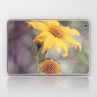 Yellow Florals Laptop & iPad Skin