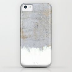 Painting on Raw Concrete iPhone 5c Slim Case