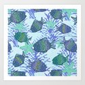 My colourful fishes Art Print