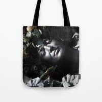 Wood Woman Tote Bag