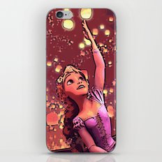 Tangled - The lights iPhone & iPod Skin