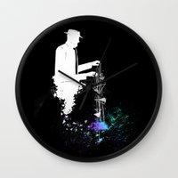 Mr.Universe Wall Clock