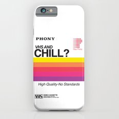 VHS And Chill iPhone 6 Slim Case