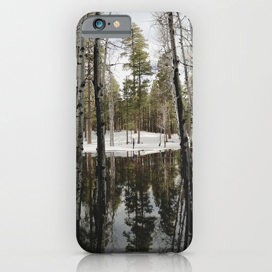 Snowy Forest Grammer iPhone & iPod Case