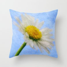 Daisy Texture 2 Throw Pillow