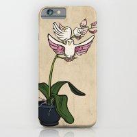 THE RARE SONGBIRD ORCHID iPhone 6 Slim Case