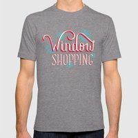 Window Shopping Mens Fitted Tee Tri-Grey SMALL