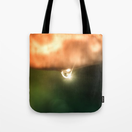Just a drop of water in an endless sea Tote Bag