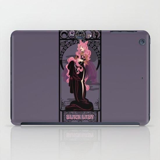 Black Lady Nouveau - Sailor Moon iPad Case