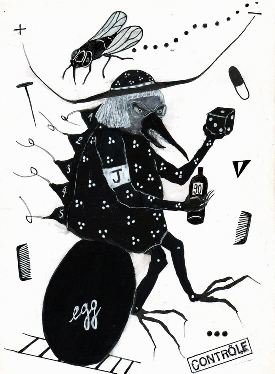 L'Oeuf de Jacques Art Print