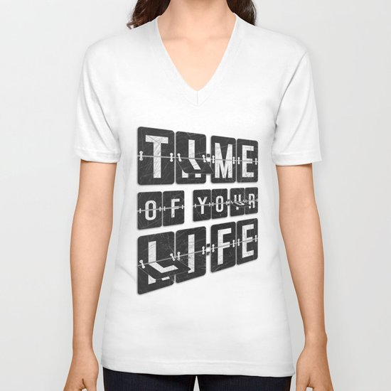 Time of Your Life V-neck T-shirt