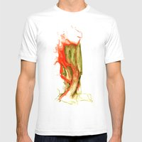 Autumnal 1 Mens Fitted Tee White SMALL