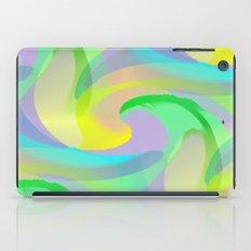 Soft Rainbow Abstract - Painterly iPad Case