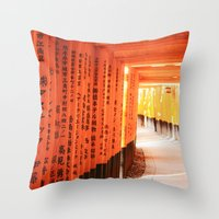 Trail Throw Pillow