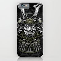 iPhone & iPod Case featuring Samurai by Brewer Arts
