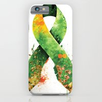 iPhone & iPod Case featuring Nature Ribbon by ErDavid