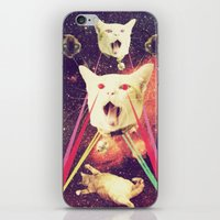 galactic Cats Saga 4 iPhone & iPod Skin
