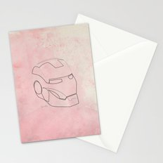 One line Iron Man Stationery Cards