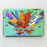 Blooming Notes V. iPad Case