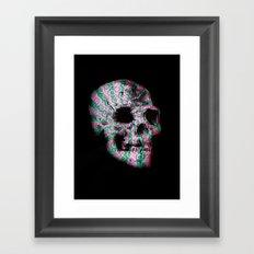 skull. Framed Art Print