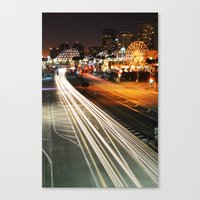Pike Nights.... You and Me. Canvas Print