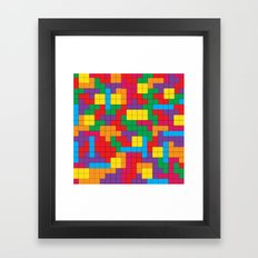 Tetris Attack Framed Art Print