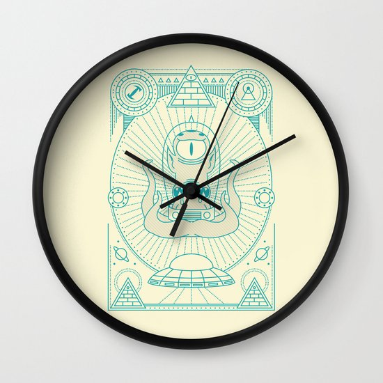 Kang the Liberator  Wall Clock