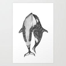 Killer Whales? Art Print