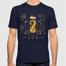 Le Beer (Elixir of Life) Mens Fitted Tee Navy SMALL
