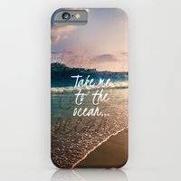 TAKE ME TO THE OCEAN iPhone 6 Slim Case