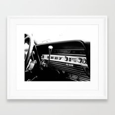 Olddie Cars Framed Art Print