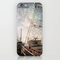 iPhone & iPod Case featuring Evening in the harbor by Susanne Van Hulst
