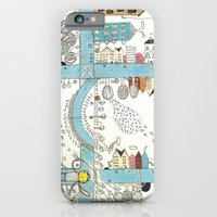 iPhone & iPod Case featuring DownTown by Nayoun Kim