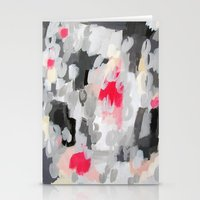 No. 70 Modern Abstract Painting Stationery Cards