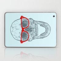 Smart-Happy Skully Laptop & iPad Skin