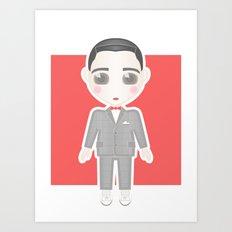 Pee-Wee Herman Art Print