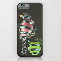iPhone & iPod Case featuring surrealist bird by Alan Maia