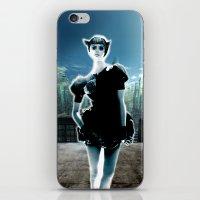Kitten Jeanne iPhone & iPod Skin
